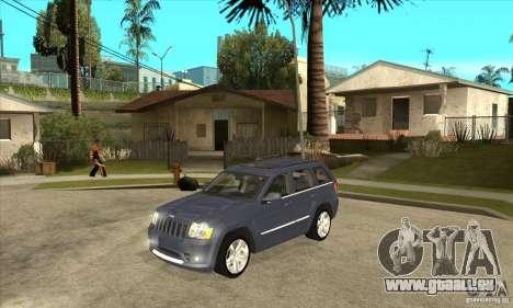 Jeep Grand Cherokee SRT8 v2.0 für GTA San Andreas