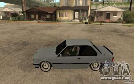 BMW E30 CebeL Tuning pour GTA San Andreas laissé vue