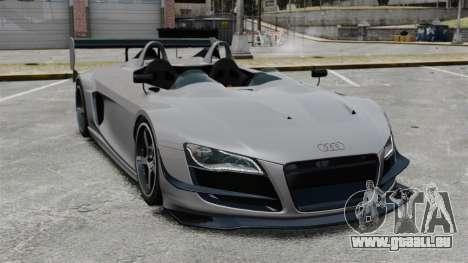 Audi R8 Spider Body Kit Final pour GTA 4