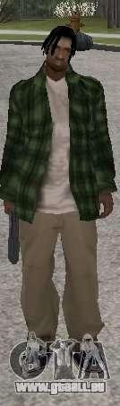 Neue Skins Grove Street für GTA San Andreas dritten Screenshot