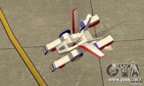 White Base 2 pour GTA San Andreas vue de droite