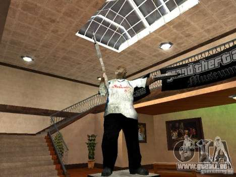 GTA Museum pour GTA San Andreas troisième écran