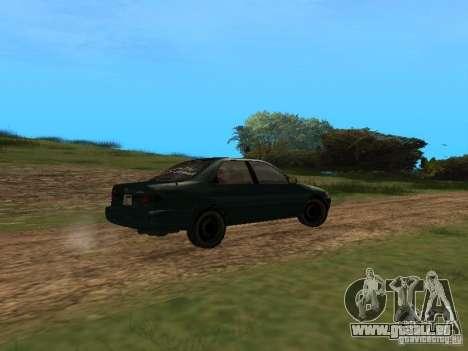 Toyota Camry Arabian Tuning pour GTA San Andreas sur la vue arrière gauche