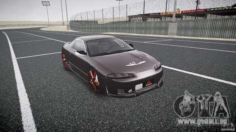 Mitsubishi Eclipse Tuning 1999 pour GTA 4 est un droit
