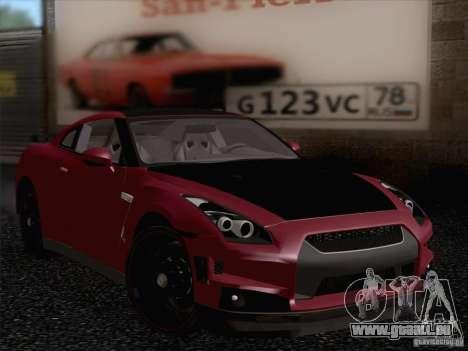 Nissan GTR Edited für GTA San Andreas