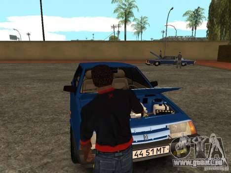 Öffne den Kofferraum und Motorhaube manuell für GTA San Andreas