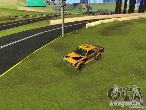 Opel Kadett pour GTA San Andreas vue de dessous