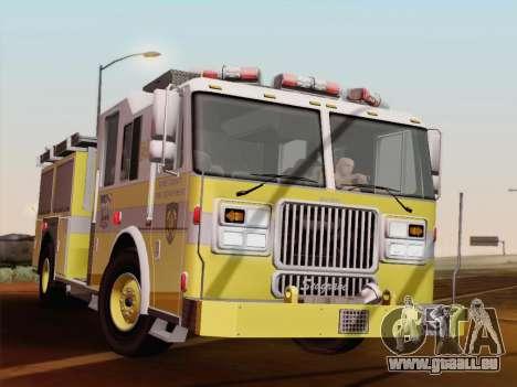 Seagrave Marauder II BCFD Engine 44 pour GTA San Andreas
