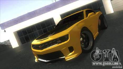 Chevrolet Camaro SS Dr Pepper Edition pour GTA San Andreas
