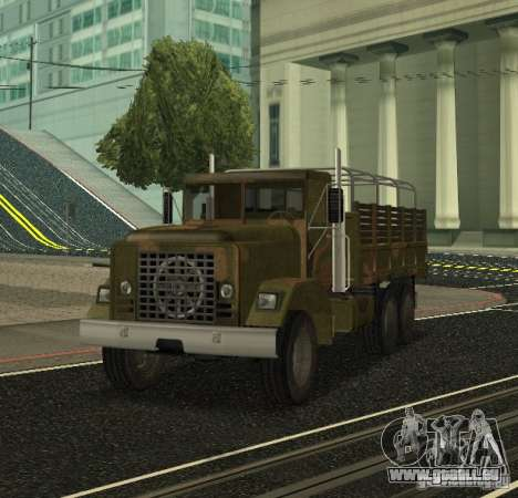 Sand Barracks HD pour GTA San Andreas laissé vue