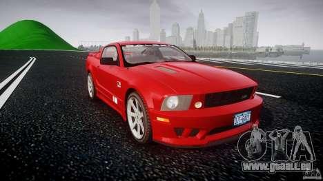 Saleen S281 Extreme - v1.2 pour GTA 4 Vue arrière