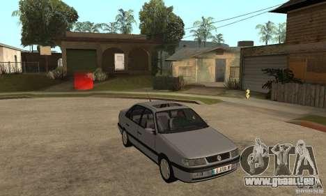 Volkswagen Passat B4 pour GTA San Andreas vue arrière