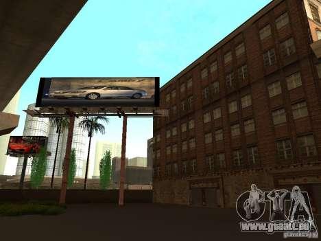 Neue Texturen Downtown Los Santos für GTA San Andreas fünften Screenshot