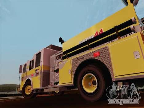 Seagrave Marauder II BCFD Engine 44 pour GTA San Andreas roue