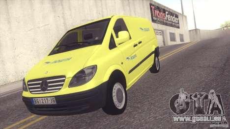 Mercedes Benz Vito Pošta Srbije pour GTA San Andreas
