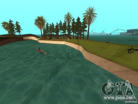 Kapu Pohaku Island v1.2 pour GTA San Andreas deuxième écran