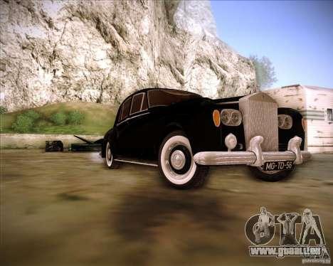 Rolls Royce Silver Cloud III für GTA San Andreas Rückansicht