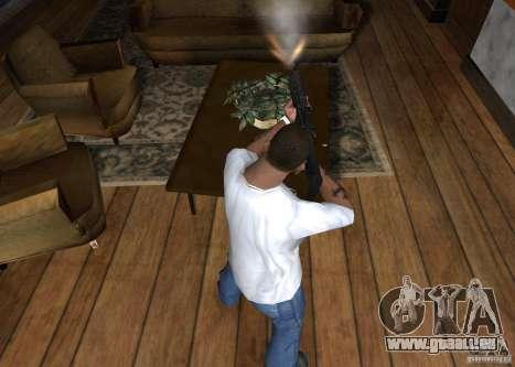 HK 416 für GTA San Andreas dritten Screenshot