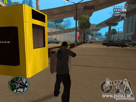 GTA IV  San andreas BETA für GTA San Andreas dritten Screenshot