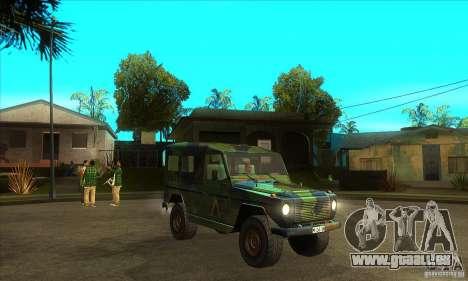 Mercedes Wolf für GTA San Andreas Rückansicht