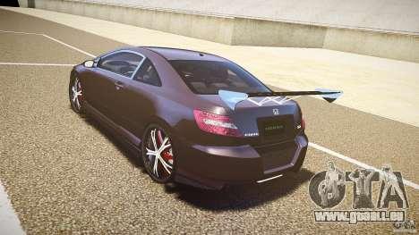 Honda Civic Si Tuning für GTA 4 hinten links Ansicht