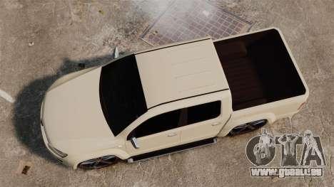 Volkswagen Amarok Light Tuning pour GTA 4 est un droit