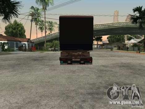 KAMAZ 5320 pour GTA San Andreas vue de droite
