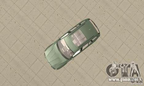 BMW X3 2.5i 2003 pour GTA San Andreas vue de droite