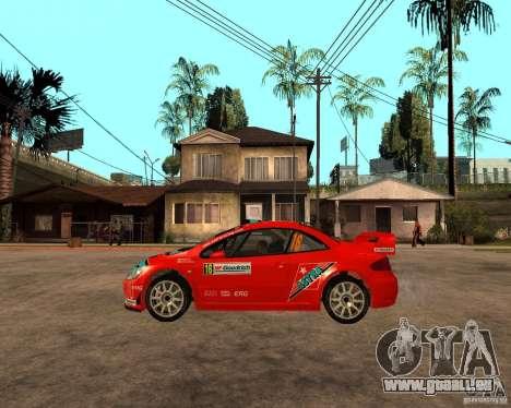 Peugeot 307 WRC pour GTA San Andreas laissé vue