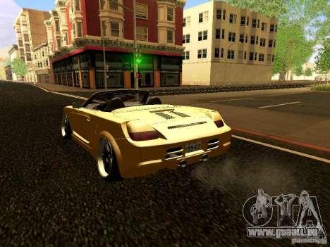 Toyota MR-S für GTA San Andreas rechten Ansicht