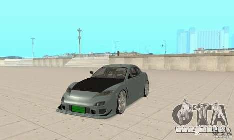 Mazda RX-8 Tuning pour GTA San Andreas laissé vue