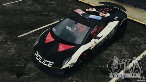 Lamborghini Sesto Elemento 2011 Police v1.0 RIV pour GTA 4 Salon