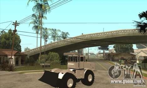 KIROVETS K701 Traktor Schlepper für GTA San Andreas rechten Ansicht