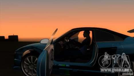 Toyota MR2 Drift pour GTA San Andreas vue intérieure