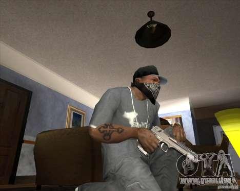 Jarra Mono Arsenal v1.2 für GTA San Andreas neunten Screenshot