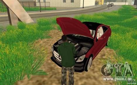 CLEO mod: CJ kann das Auto reparieren für GTA San Andreas
