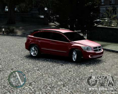 Dodge Caliber pour GTA 4 Salon