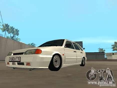 ВАЗ 2114 Drain pour GTA San Andreas