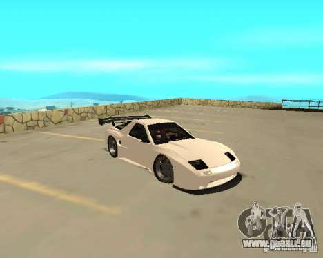 Mazda RX-7 FC - MadMike: Version.2 für GTA San Andreas zurück linke Ansicht