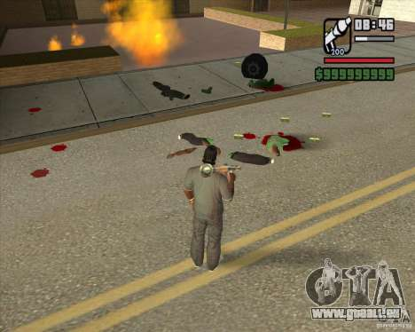 Real Ragdoll Mod Update 2011.09.15 für GTA San Andreas fünften Screenshot