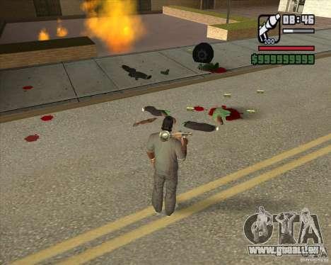 Real Ragdoll Mod Update 2011.09.15 pour GTA San Andreas cinquième écran