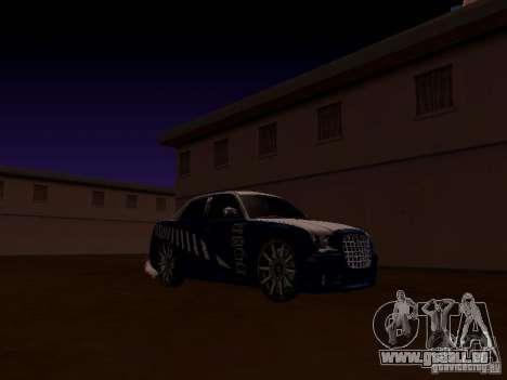 Chrysler 300 c SRT8 2007 für GTA San Andreas Seitenansicht