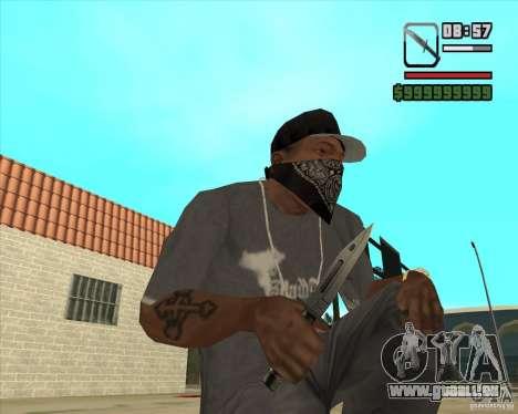 New Knife für GTA San Andreas dritten Screenshot
