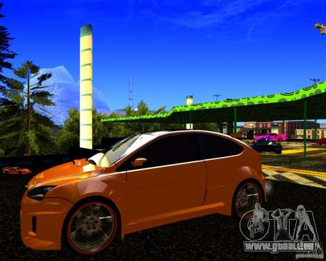 Ford Focus ST Racing Edition für GTA San Andreas