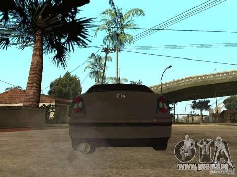Skoda Octavia Custom Tuning pour GTA San Andreas sur la vue arrière gauche