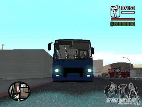 Ikarus 260.51 pour GTA San Andreas laissé vue