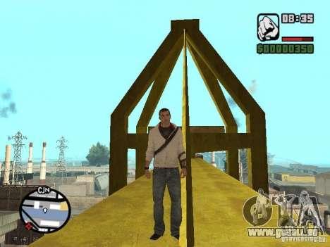 Desmond Miles pour GTA San Andreas sixième écran
