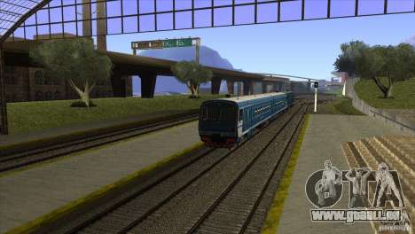 Un nouvel algorithme de train 5 pour GTA San Andreas quatrième écran