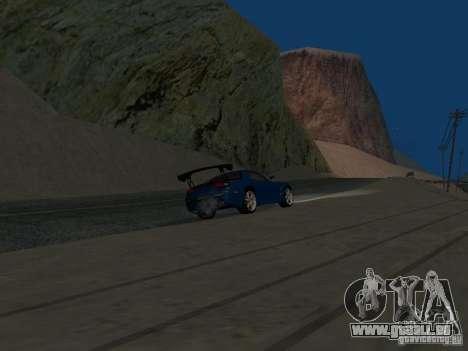 Mazda RX-7 für GTA San Andreas Innenansicht