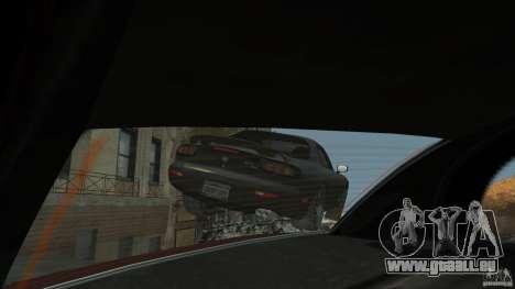 Mazda RX7 1995 Black [EPM] pour GTA 4 roues